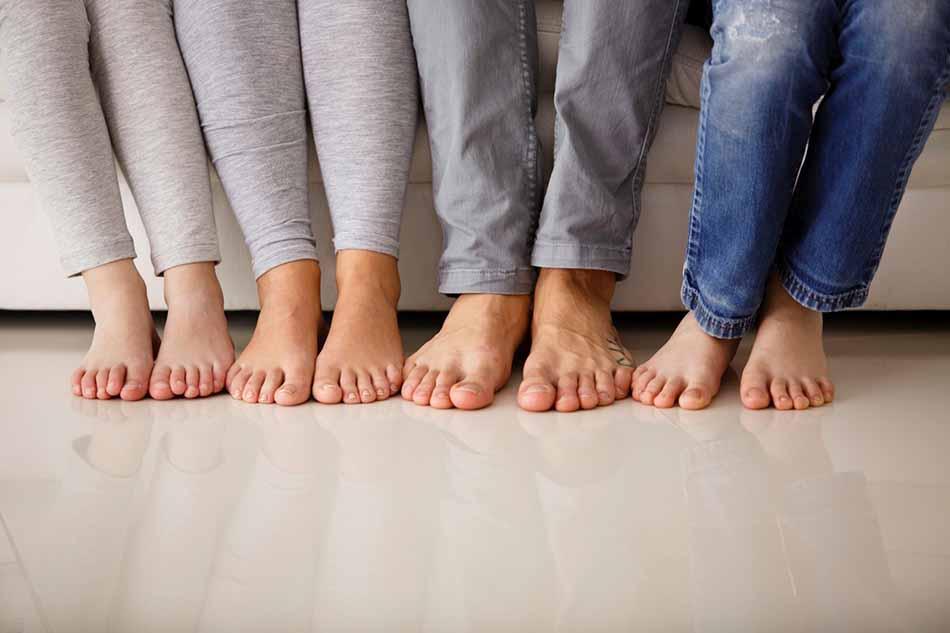 نمدی 2 - چگونه در فصل سرما پاهای خود را گرم نگه دارید ؟