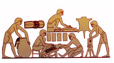 چرم - تاریخ تولید چرم در جهان