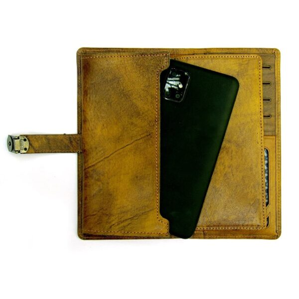 photo 2021 07 02 03 35 53 600x600 - کیف پول چرمی با جای موبایل و قفل دار کد B101