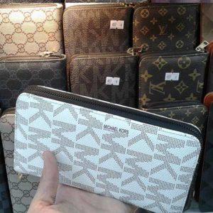 کیف پول زنانه شیک برند مایکل کورس – زیپ دار
