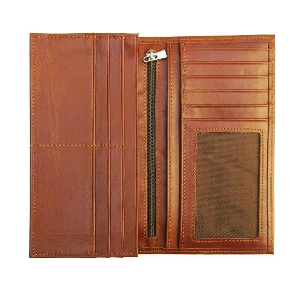photo 2021 06 19 04 21 26 600x600 - کیف پول چرم طبیعی با جاموبایلی و جعبه چوبی کد B103