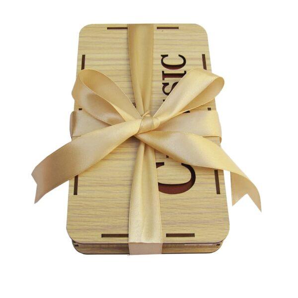 photo 2021 06 19 04 21 44 600x600 - کیف پول چرم طبیعی با جاموبایلی و جعبه چوبی کد B103