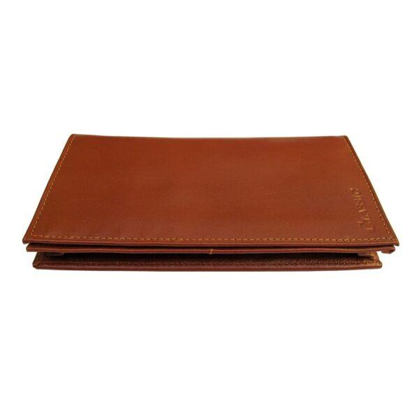 photo 2021 06 19 04 22 06 600x600 - کیف پول چرم طبیعی با جاموبایلی و جعبه چوبی کد B103