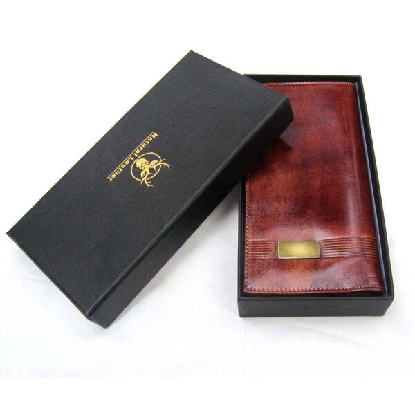 1 600x600 - کیف پول چرم با جای موبایل و جعبه هارد باکس کد B105