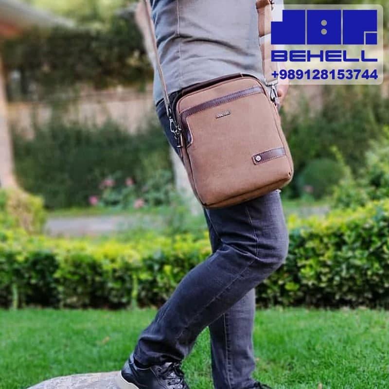 دوشی اسپرت کتان - تولید کیف دوشی مردانه ارزان | پخش و فروش عمده