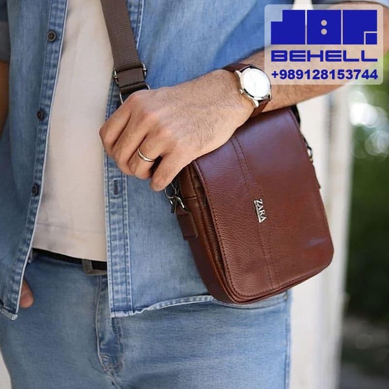 دوشی منوچهری  - تولید کیف دوشی مردانه ارزان | پخش و فروش عمده